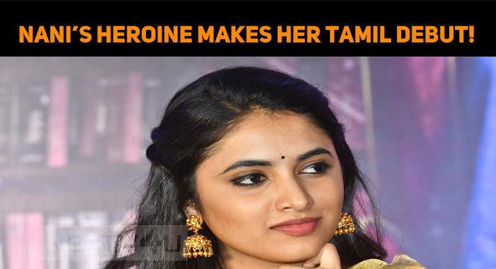 Nani's Heroine Makes Her Tamil Debut!