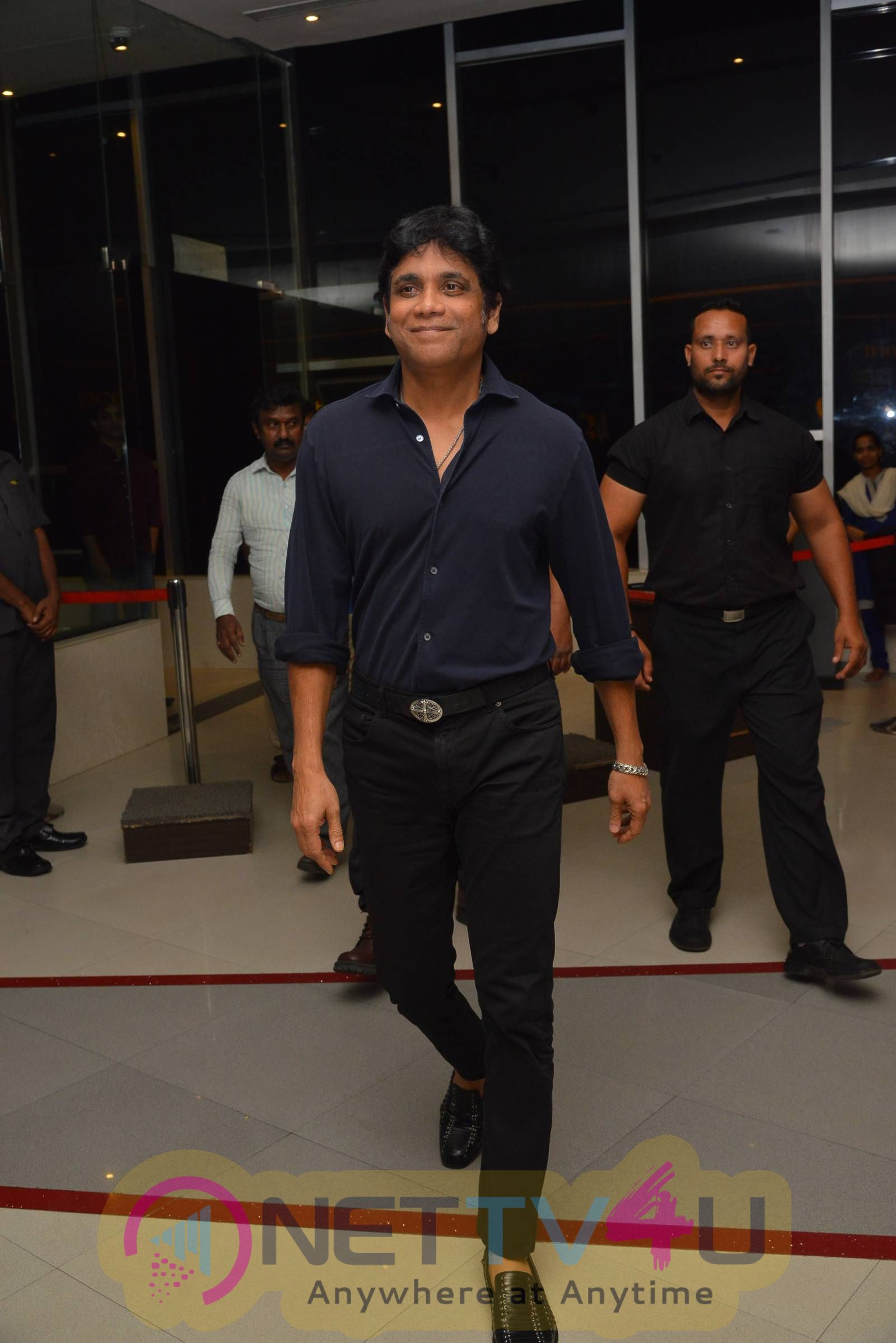 Nagarjuna At RGG 2 Special Screening Show Photos