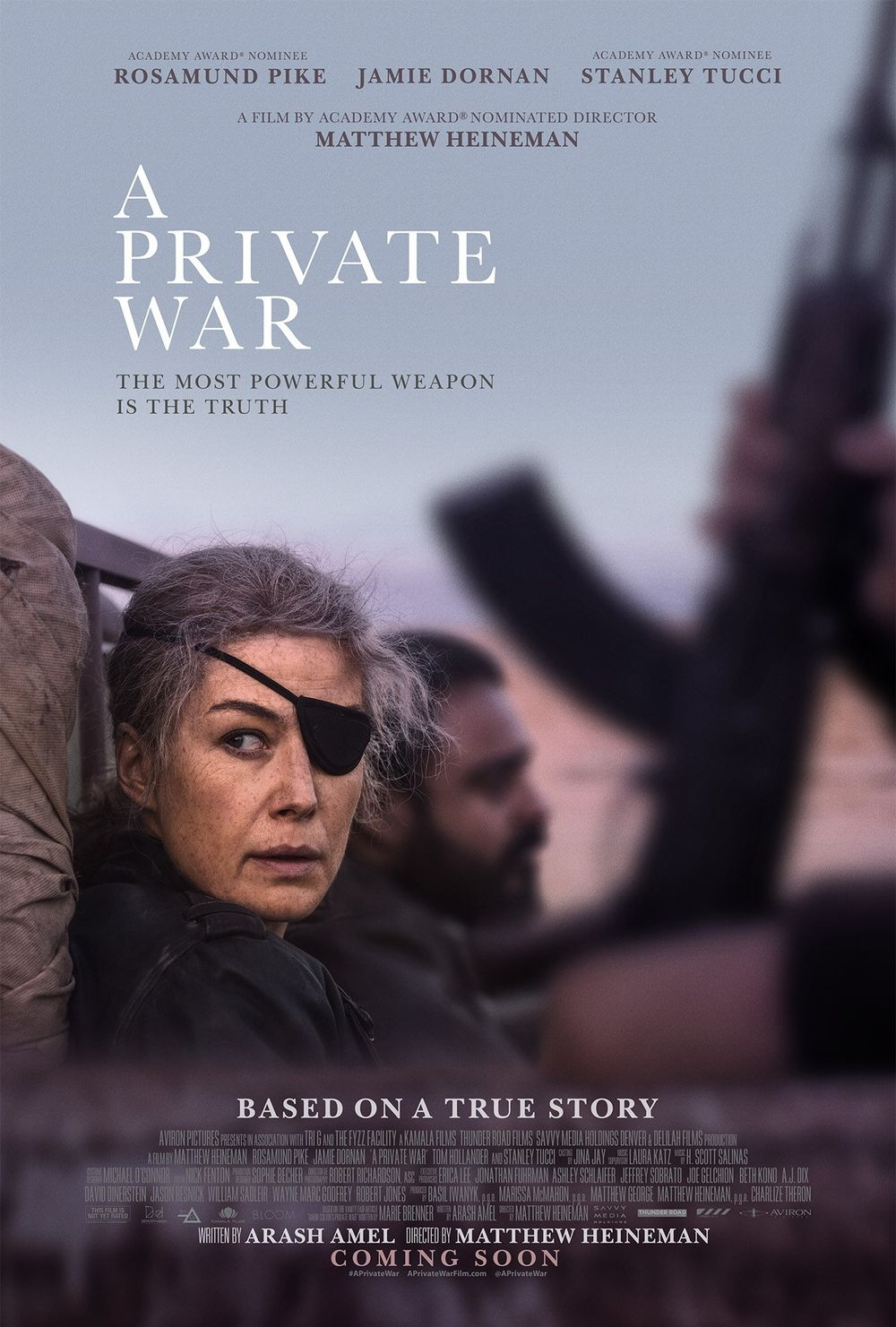 A Private War Movie Review