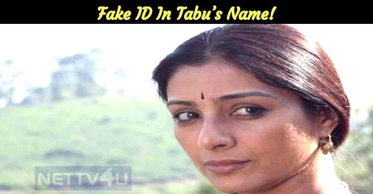 Fake ID In Tabu's Name!