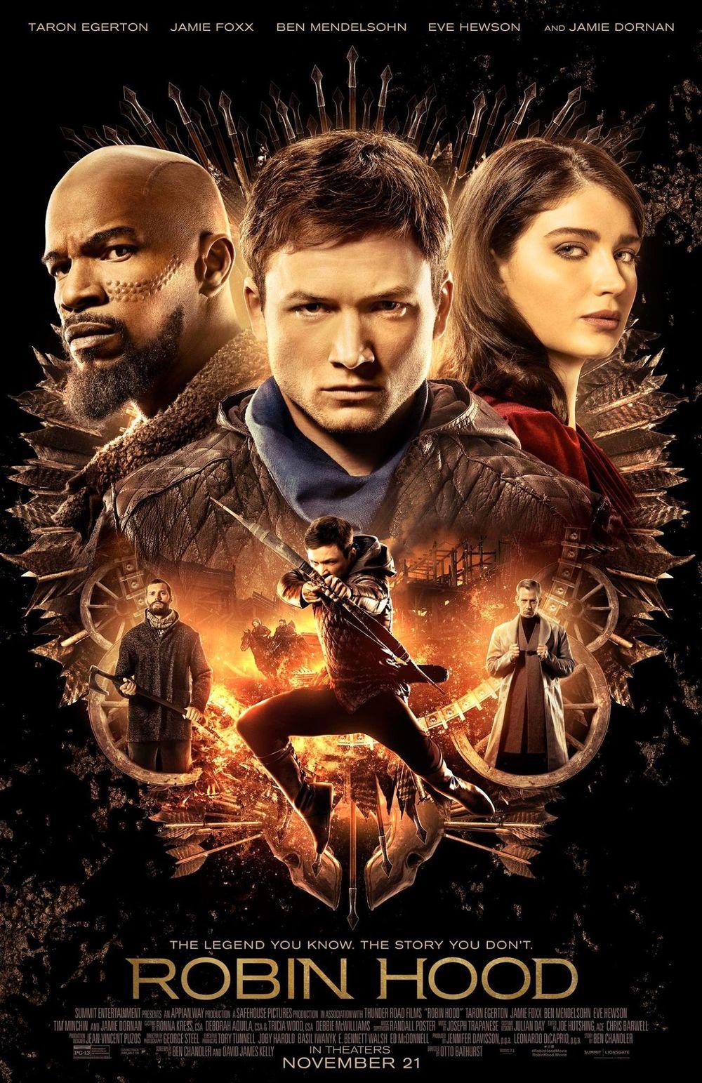 Robin Hoodd Movie Review