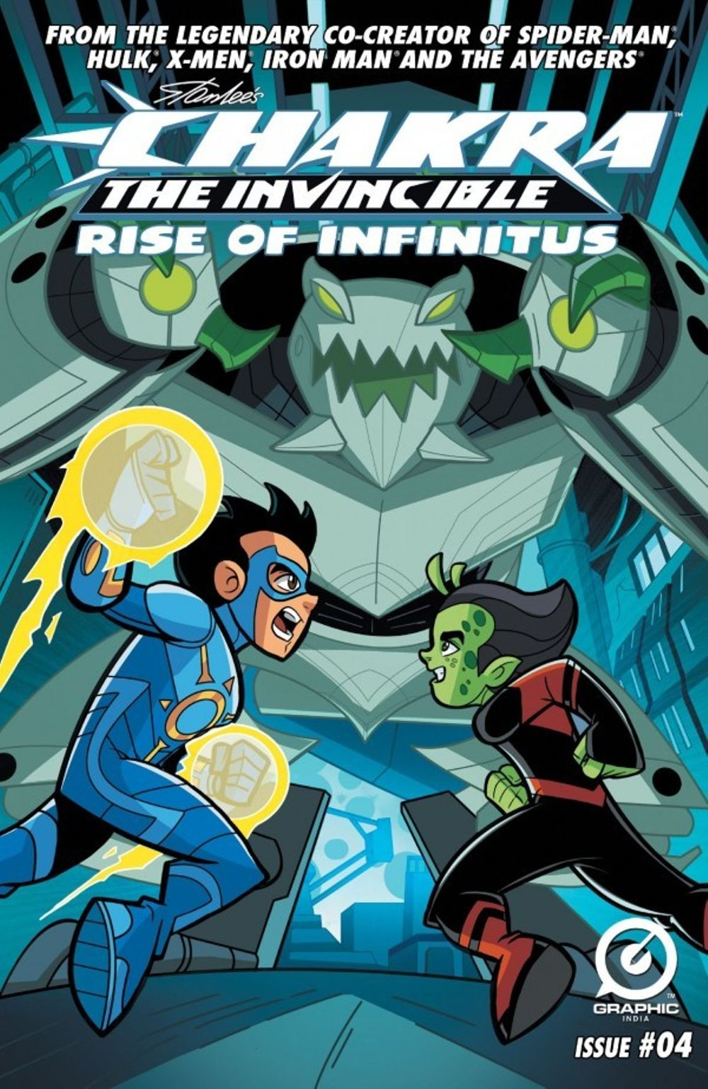 Stan Lees Chakra The Invincible The Rise Of Infinitus  Movie Review