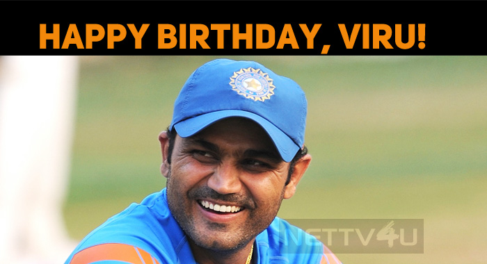 Virender Sehwag Celebrates His Birthday Today!