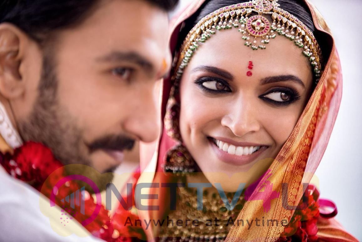 Actress Deepika Padukone And Actor Ranveer Singh Wedding Photos