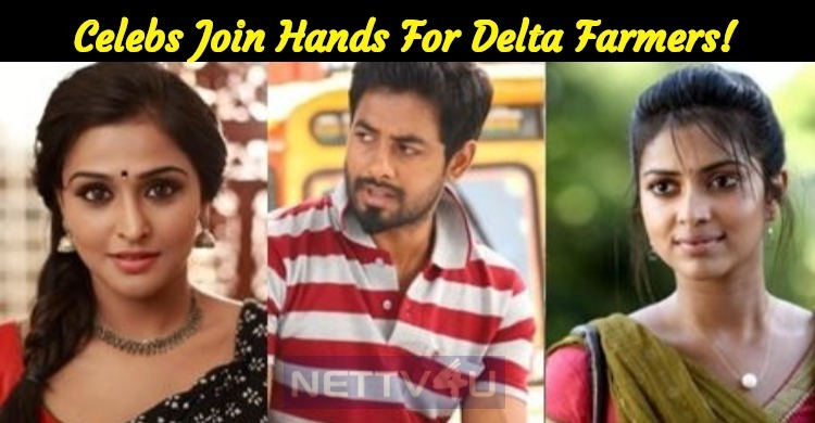 Celebs Join Hands For Delta Farmers!