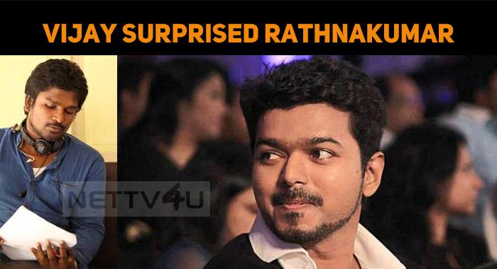 Vijay Surprised Amala Paul's Director!