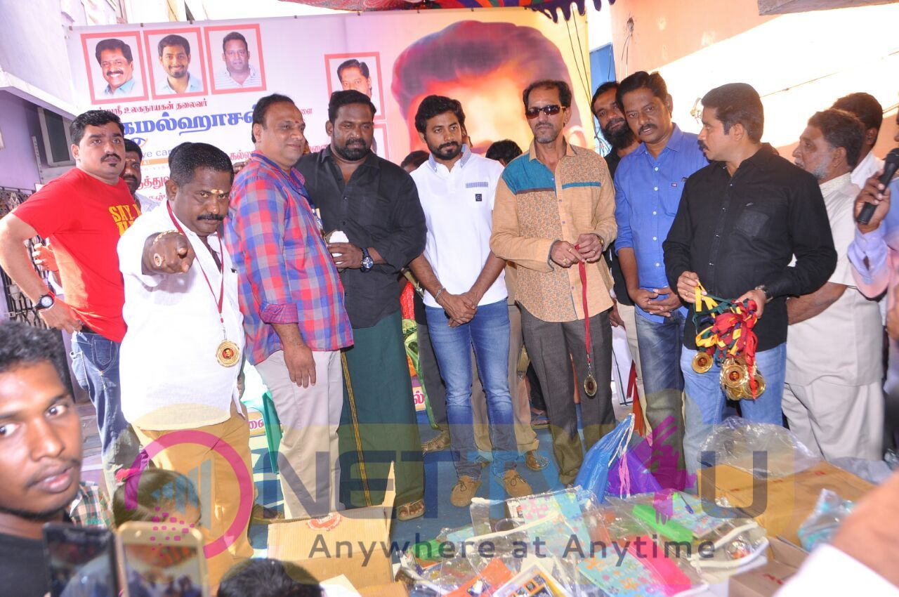 Kamalhassan Fans Club Medical Camp Stills