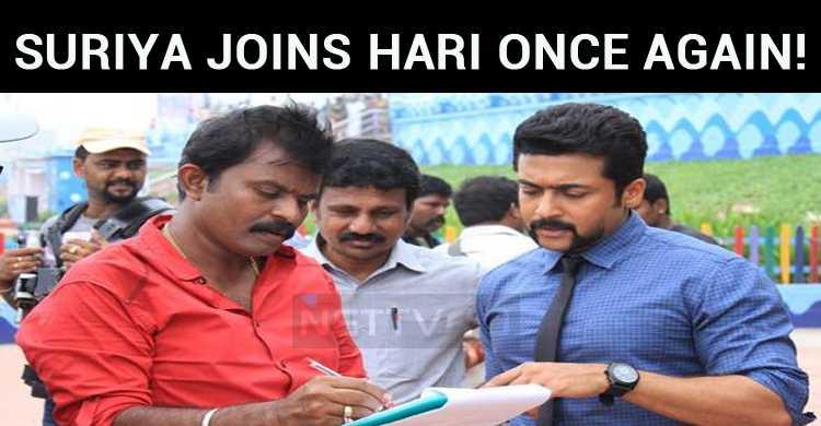 Suriya Joins Hari Once Again!