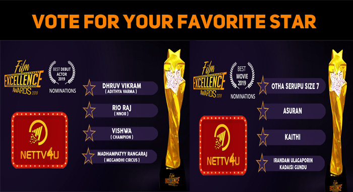 Vote For Your Favorite Star – Join Nettv4u
