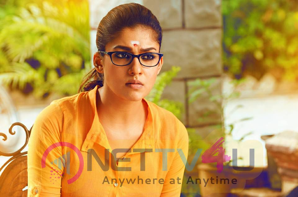 Actress Nayantara New Movie Dora Working Stills