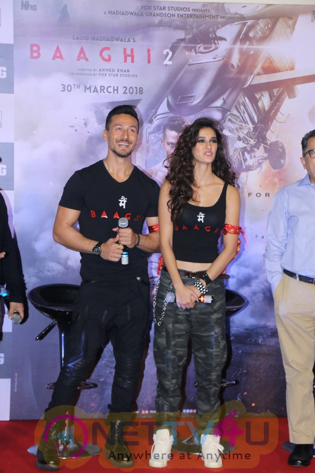 Trailer Launch Of Baaghi 2 At PVR Stills Hindi Gallery