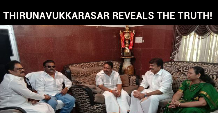 Thirunavukkarasar Reveals The Truth!