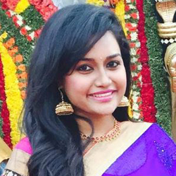 Vaishali Krishnan Tamil Actress