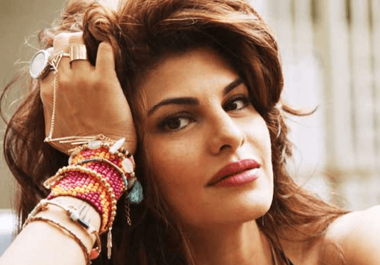 Jacqueline Fernandez With Her Brands Of Cosmetics