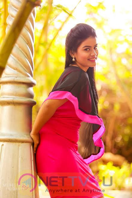 Kundrathile Kumaranukku Kondattam Movie Heroine Riya Mikka Lovely Photo Shoot  Tamil Gallery