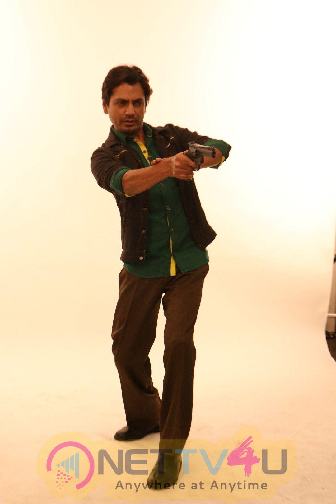 Shooting For His First Movie Poster Of His Upcoming Film Babumoshai Bandookbaaz Stills