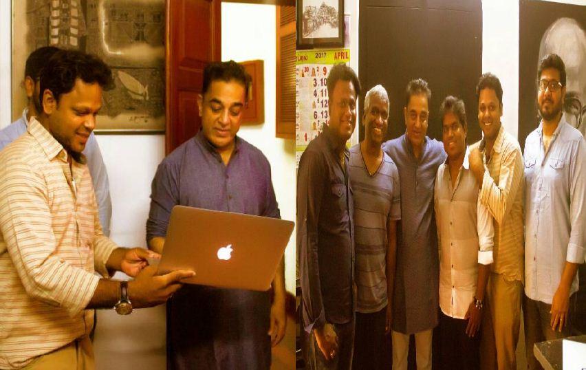 Kamal Released The Single Track From Padaiveeran!