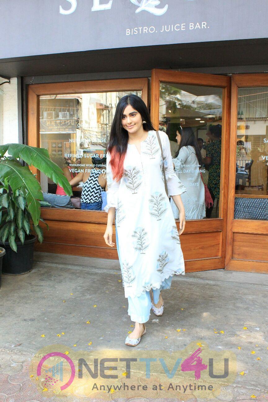Adah Sharma Came To Bandra