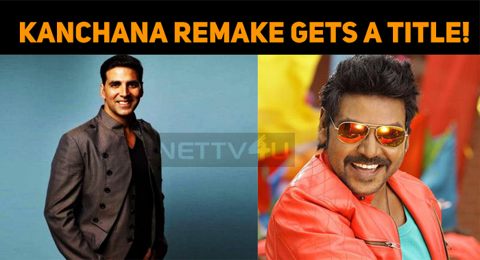 Kanchana Hindi Remake Gets A Title!