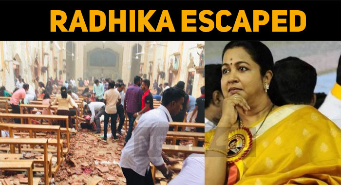 Sri Lanka Bomb Blast – Radhika's Narrow Escape