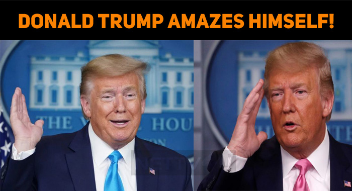 Donald Trump Amazes Himself!