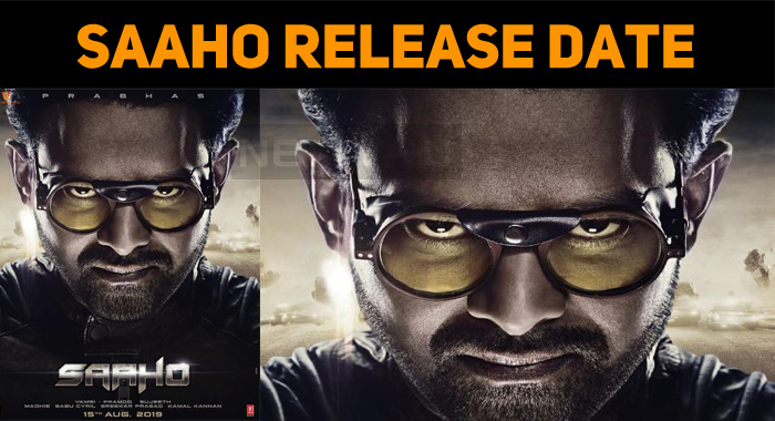 Saaho Release Date Announced!