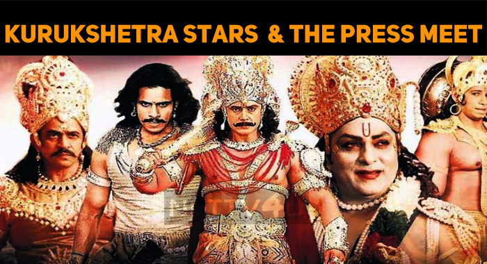 Why Did Kurukshetra Stars Give A Miss To The Pr..