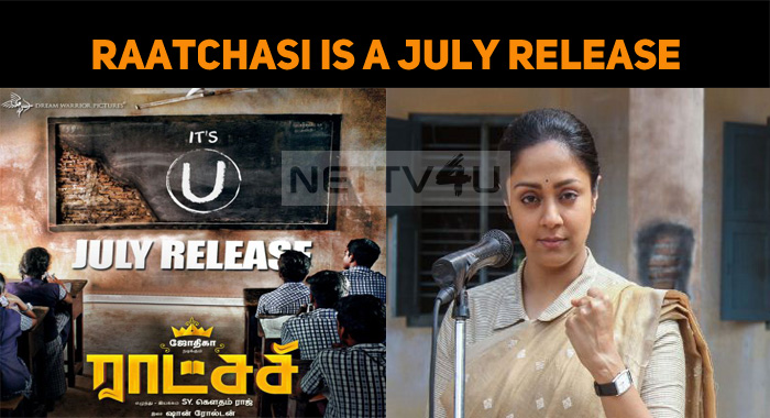 Raatchasi Is A July Release!