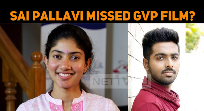 Sai Pallavi Missed Doing This Film…