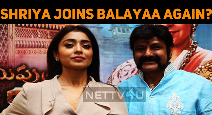 Shriya Joins Balayaa Again?