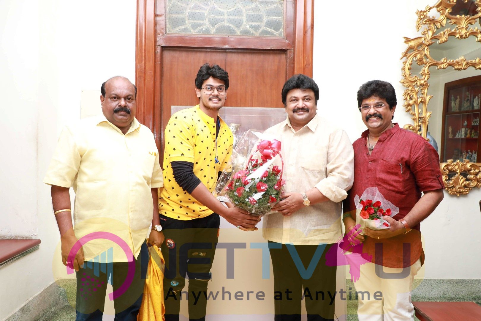 Actor Prabhu Launched Koothan Movie First Look Poster  And Stills Tamil Gallery