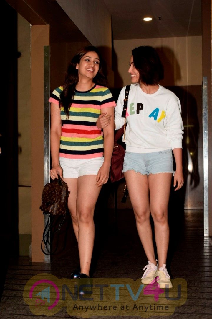 Yami Gautam And Sister Spotted At Pvr Juhu Best Images  Hindi Gallery
