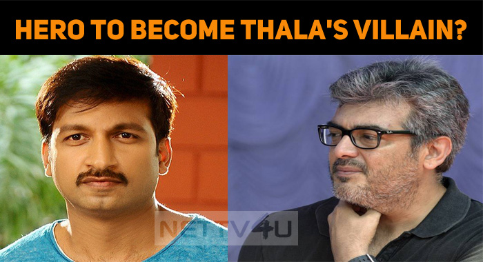 A Popular Hero To Become Thala's Villain In AK ..