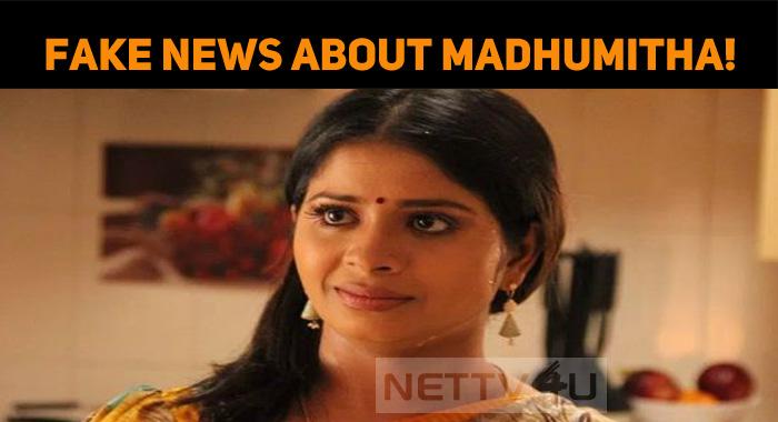 Fake News About Bigg Boss Jangiri Madhumitha!