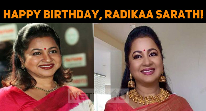 Happy Birthday, The Super Actress, Radikaa Sara..
