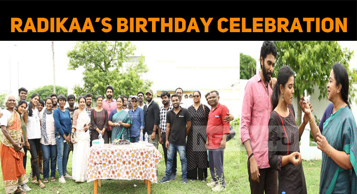 Radikaa Celebrated Her Birthday With Her On-scr..