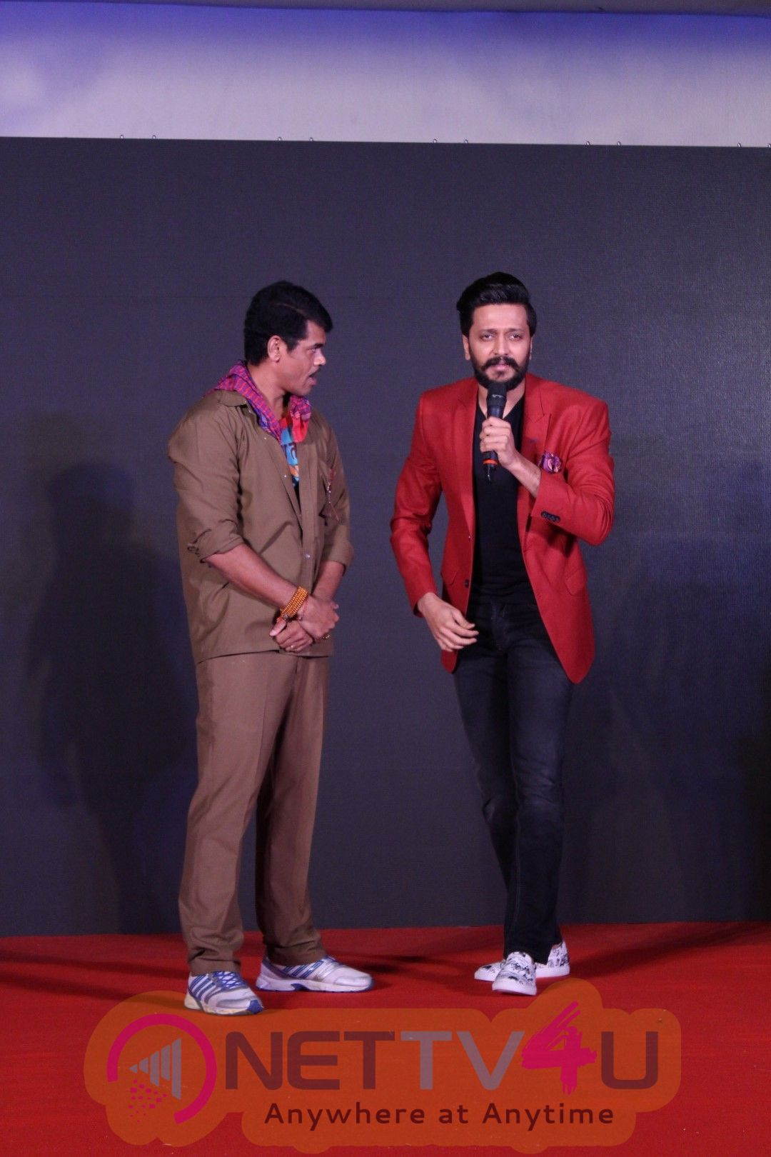 Film Faster Fene Promotional Song Launch By Riteish Deshmukh Stills