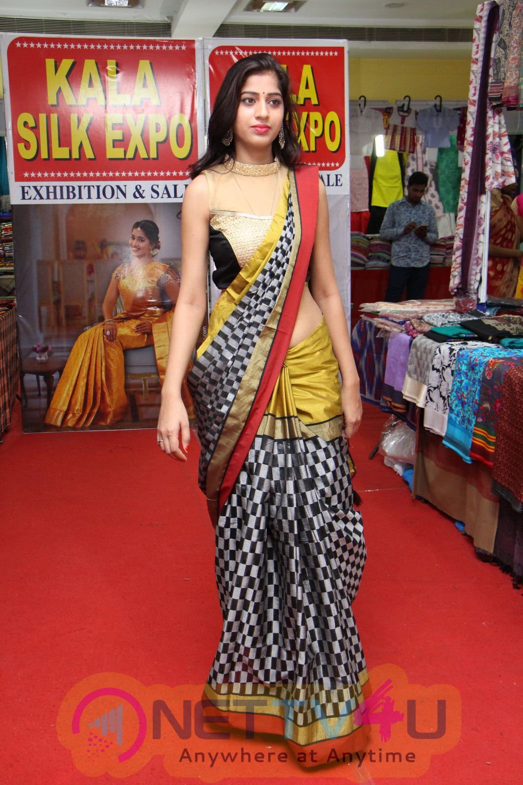 Kala Silk Handloom Expo Begins At Himayatnagar Fashion Show Added A Glitz And Glamour To The Occasion