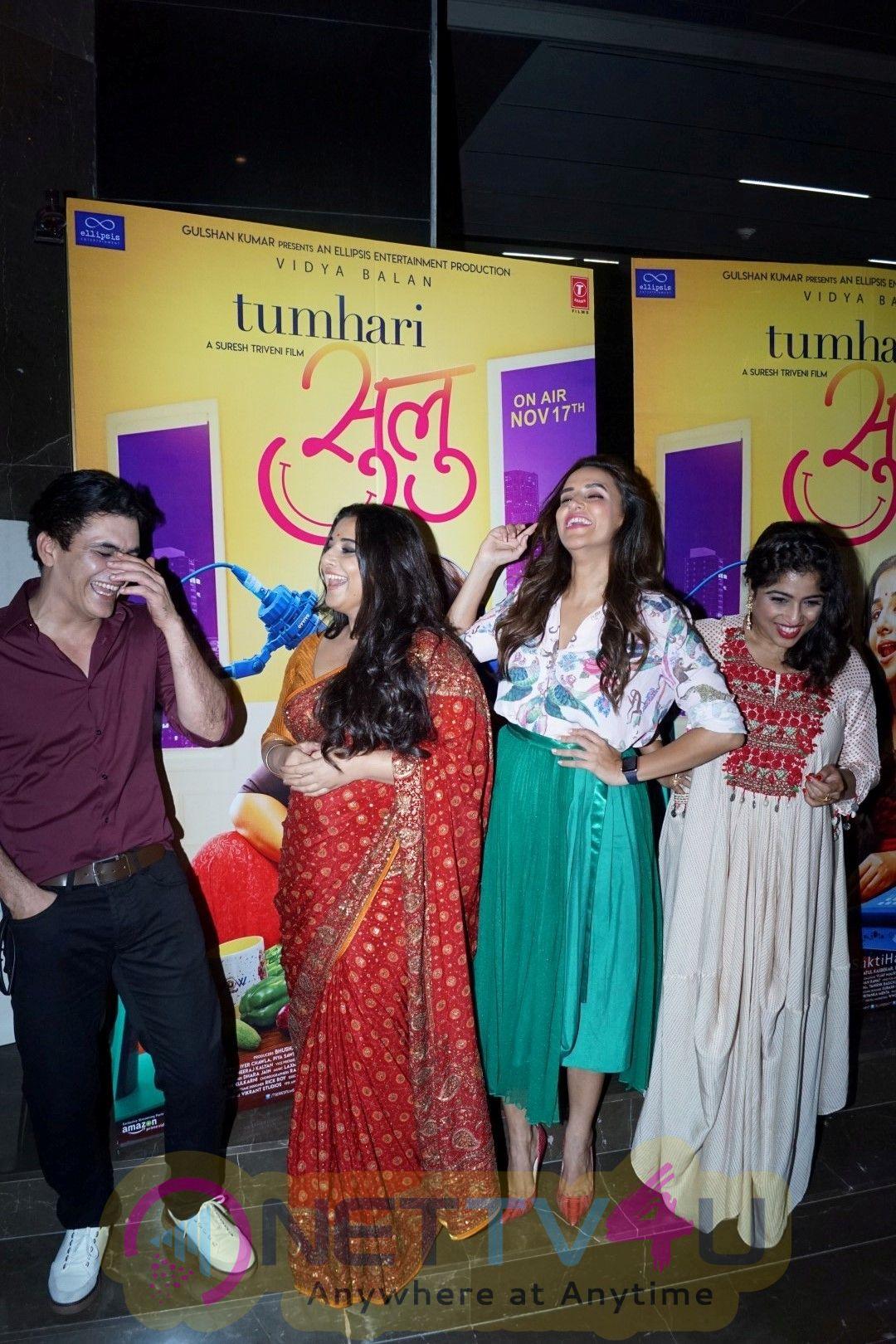 Trailer Launch Of Film Tumhari Sulu With Vidya Balan & Neha Dhupia Stills