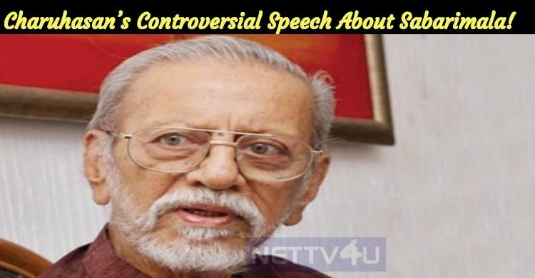 Charuhasan's Controversial Speech About Sabarimala!