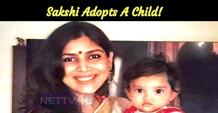 Sakshi Adopts A Child!
