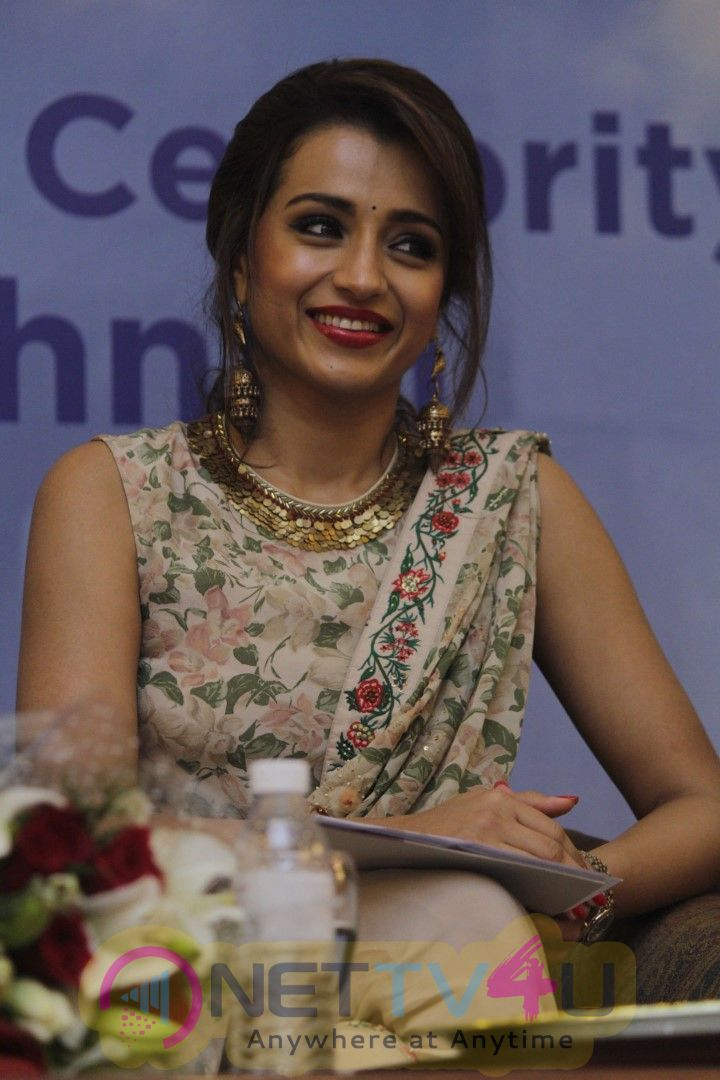 Trisha Conferred UNICEF Celebrity Advocate Status Pics