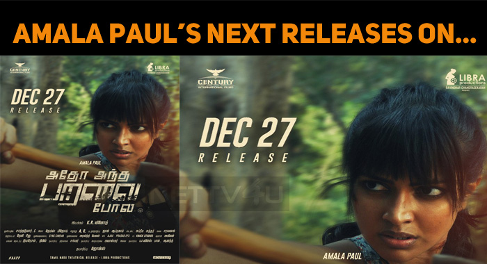 Amala Paul's Next Releases On…