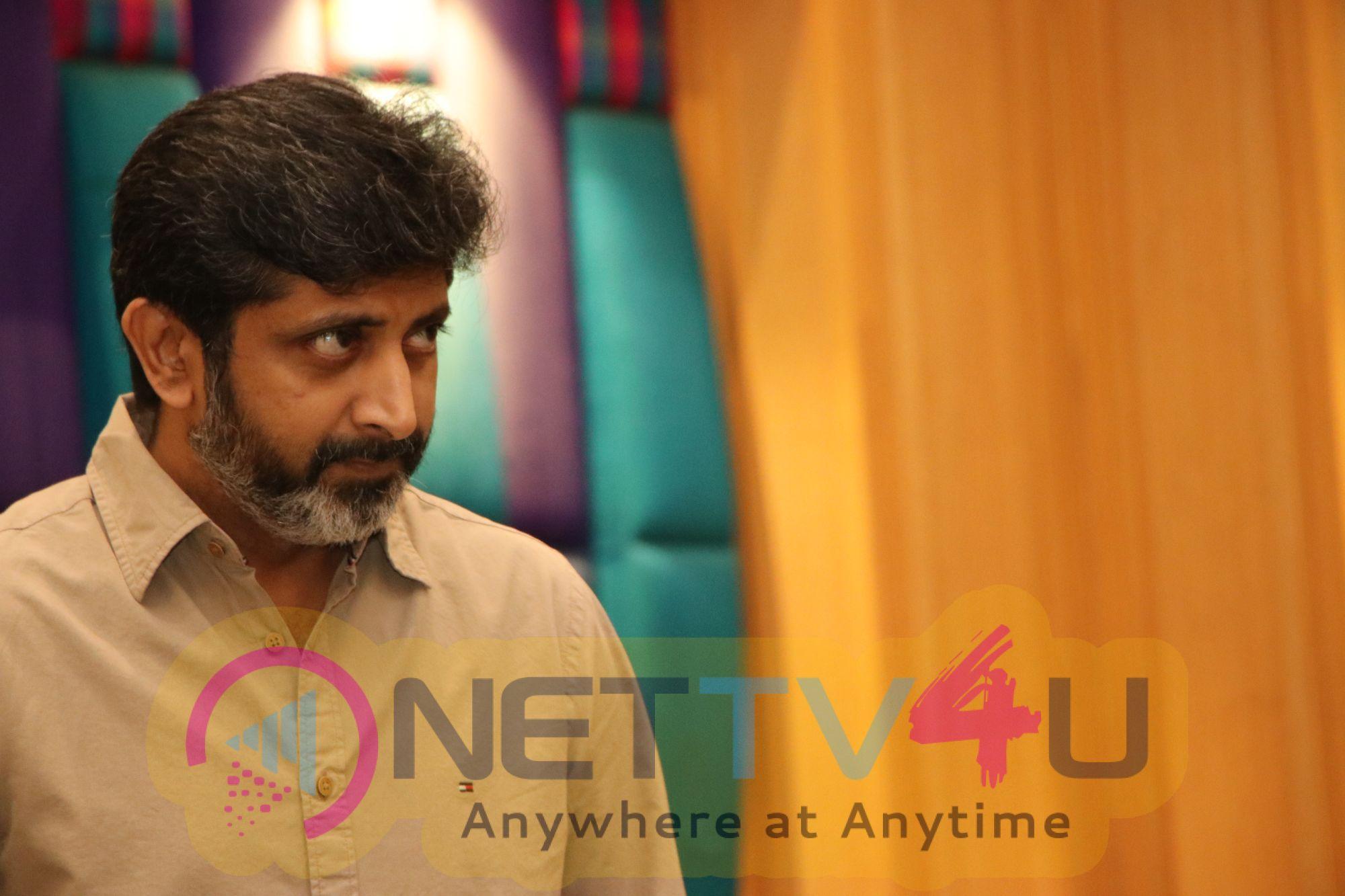 Director Mohan Raja Interview Pics Telugu Gallery