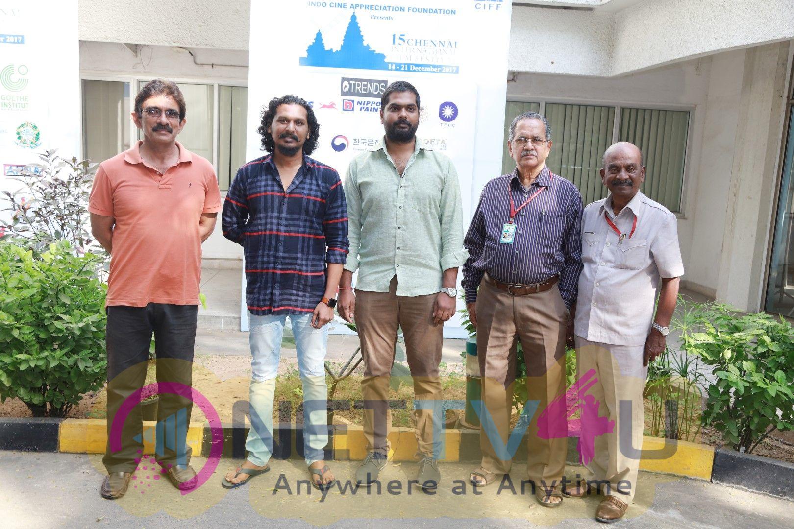 Magalir Mattum Movie Team At 15th Chennai International Film Festival Images