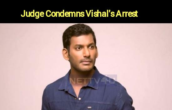 Vishal's Arrest Is Condemnable – Madras High Court