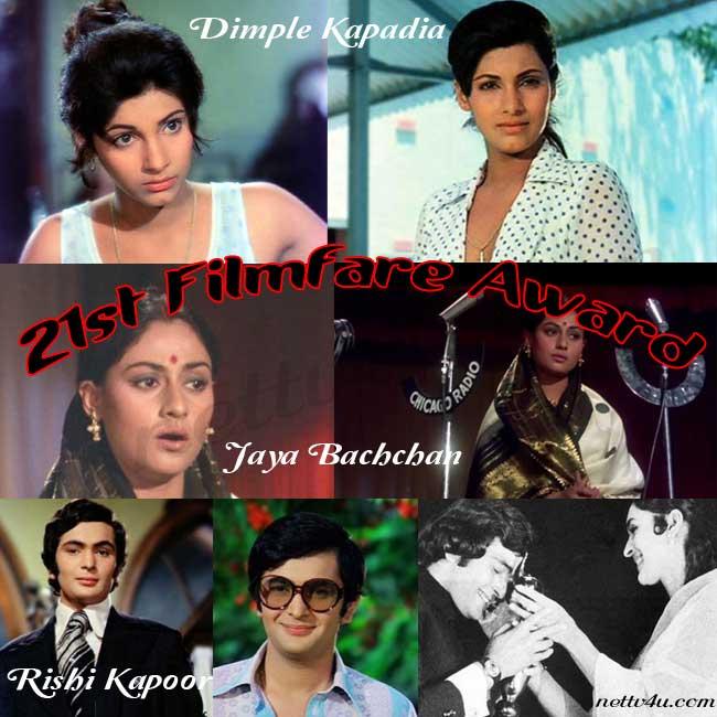 21st Filmfare Awards