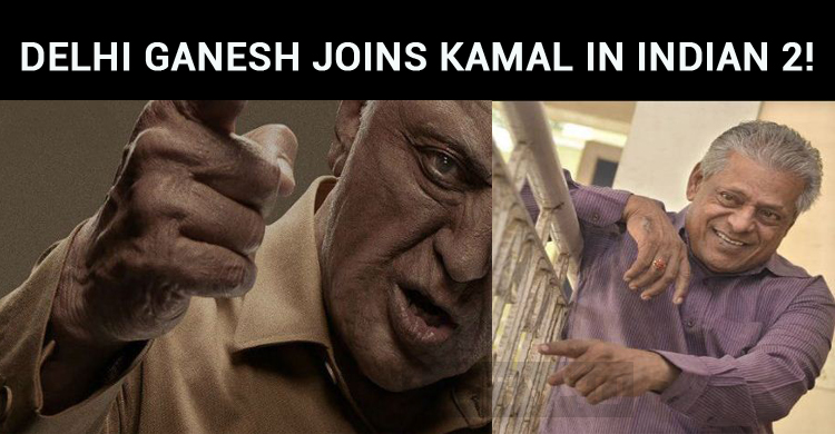 Yet Another Senior Star Joins Kamal In Indian 2!