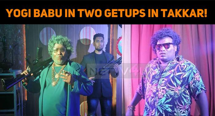 Yogi Babu In Two Getups In Takkar!