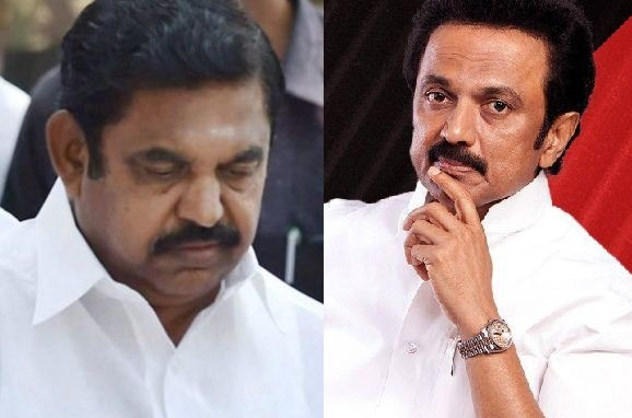 DMK files a case against CM Edappadi !